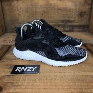 NEW Adidas Alphabounce Black White